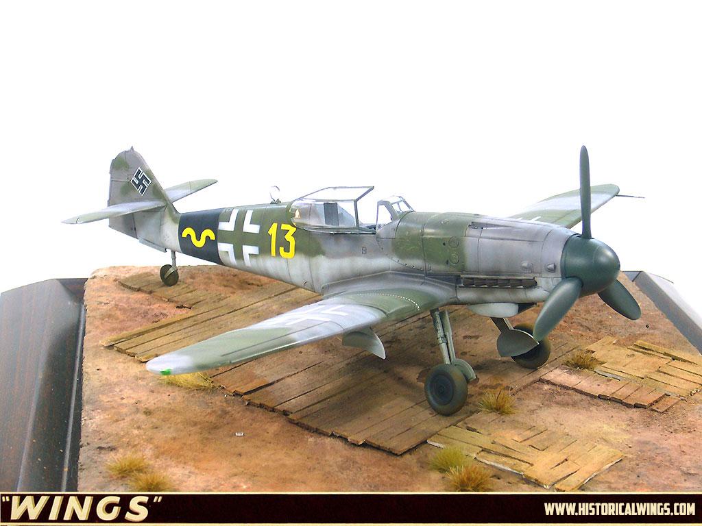 1 48 Hasegawa Luftwaffe German Fighter Bf 109 K4