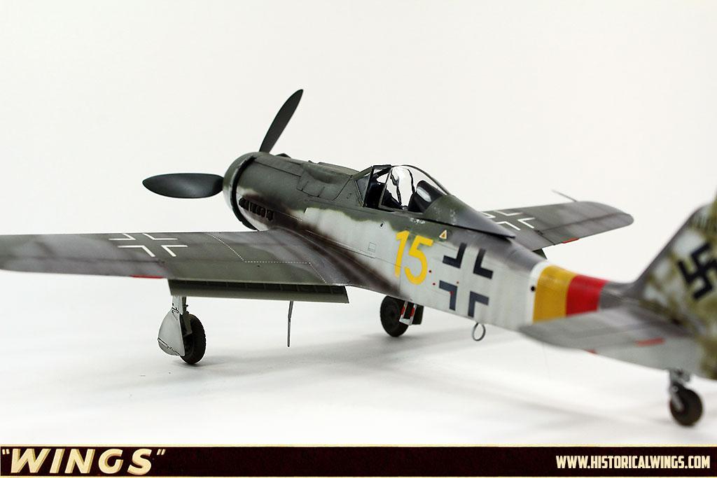 1 48 Hobbyboss Yellow 15 Werk Nummer 500666 Fw 190 D 9
