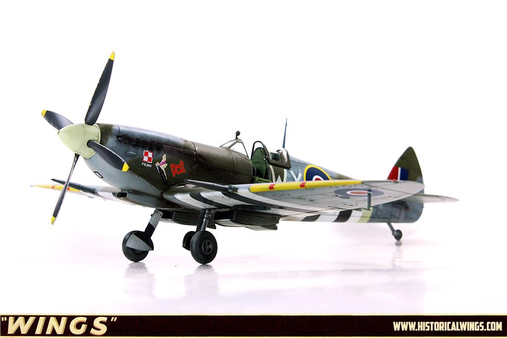 1/48 Eduard Spitfire Mk IXc Late version, MH712, flown by W