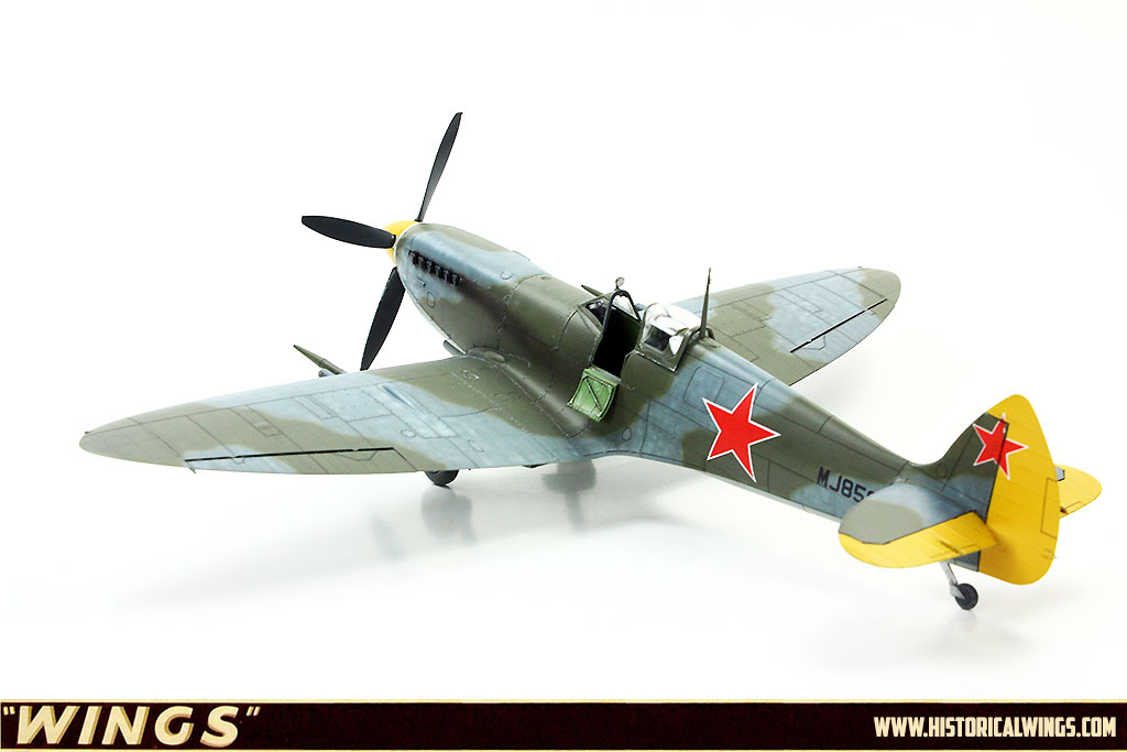 1 48 Eduard Spitfire Mk Ixc Late Version Mj858 Leningrad May 1944 Historical Wings