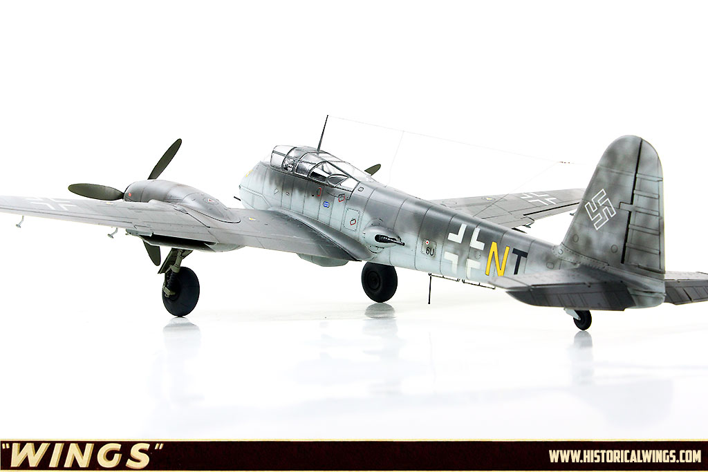 1/48 Meng Me410 B-2/U2/R4 Zerstörer, 9 /ZG1, December 1944