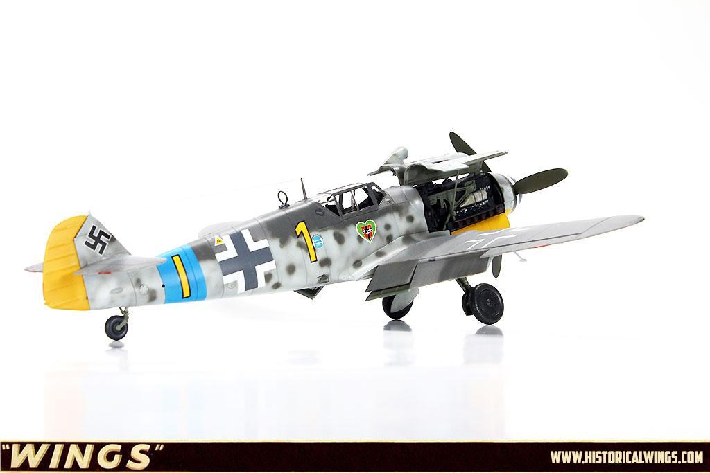 1/48 Tamiya Bf109 G-6, Flown by Oblt  Wilhelm Schilling, CO